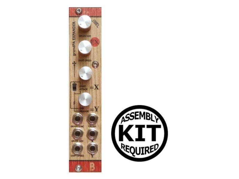 Bastl Instruments Spa (GrandPa Expander) - Wood, Kit, BLOWOUT PRICING