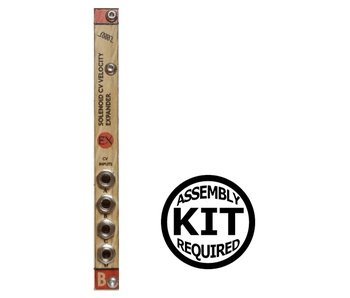 Bastl Instruments Solenoid Expander - Wood, Kit, BLOWOUT PRICING