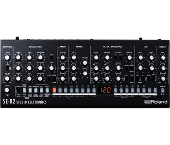 Roland SE-02 Synthesizer, OPEN BOX
