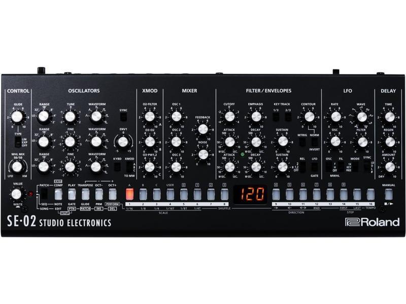 Roland SE-02 Synthesizer, OPEN BOX