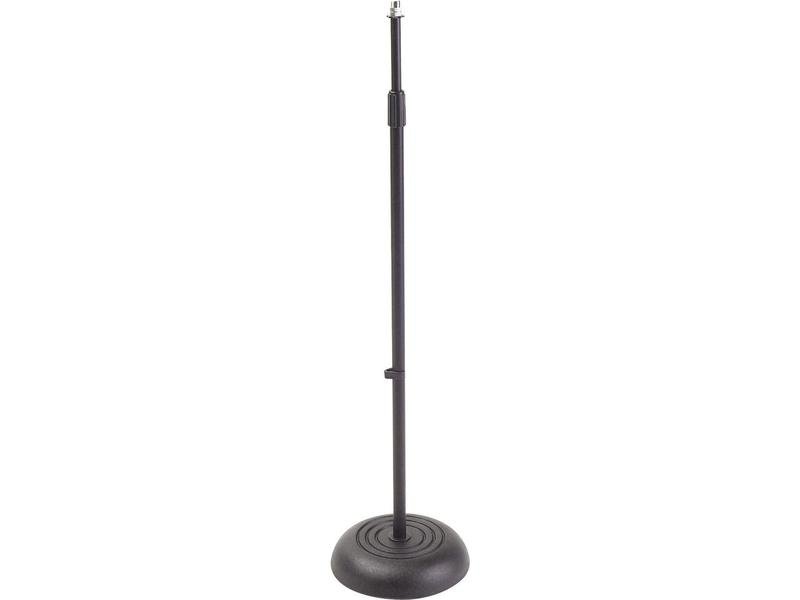 On-Stage Stands Microphone Stand, Straight, Black