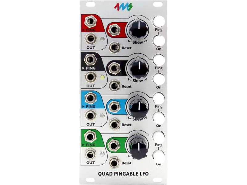 4ms QPLFO (Quad Pingable LFO)