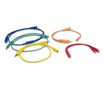 Hosa Hopscotch Cables (Various lengths), 5pk