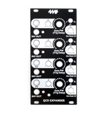 4ms QCD Expander Faceplate - Black