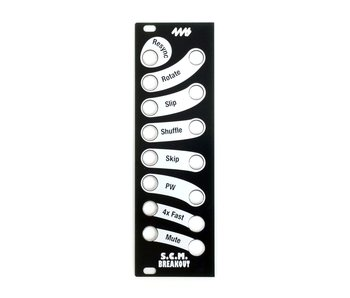4ms SCMBO Faceplate - Black