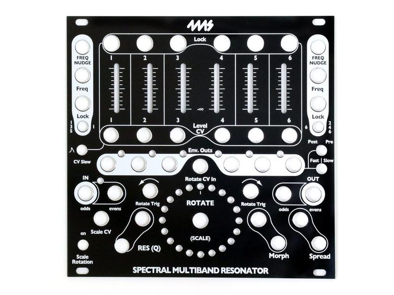 4ms SMR Faceplate - Black