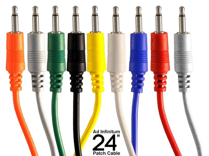 """Ad Infinitum 3.5mm Patch Cable, 24"""""""