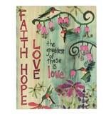 Painted Faith Hope Love