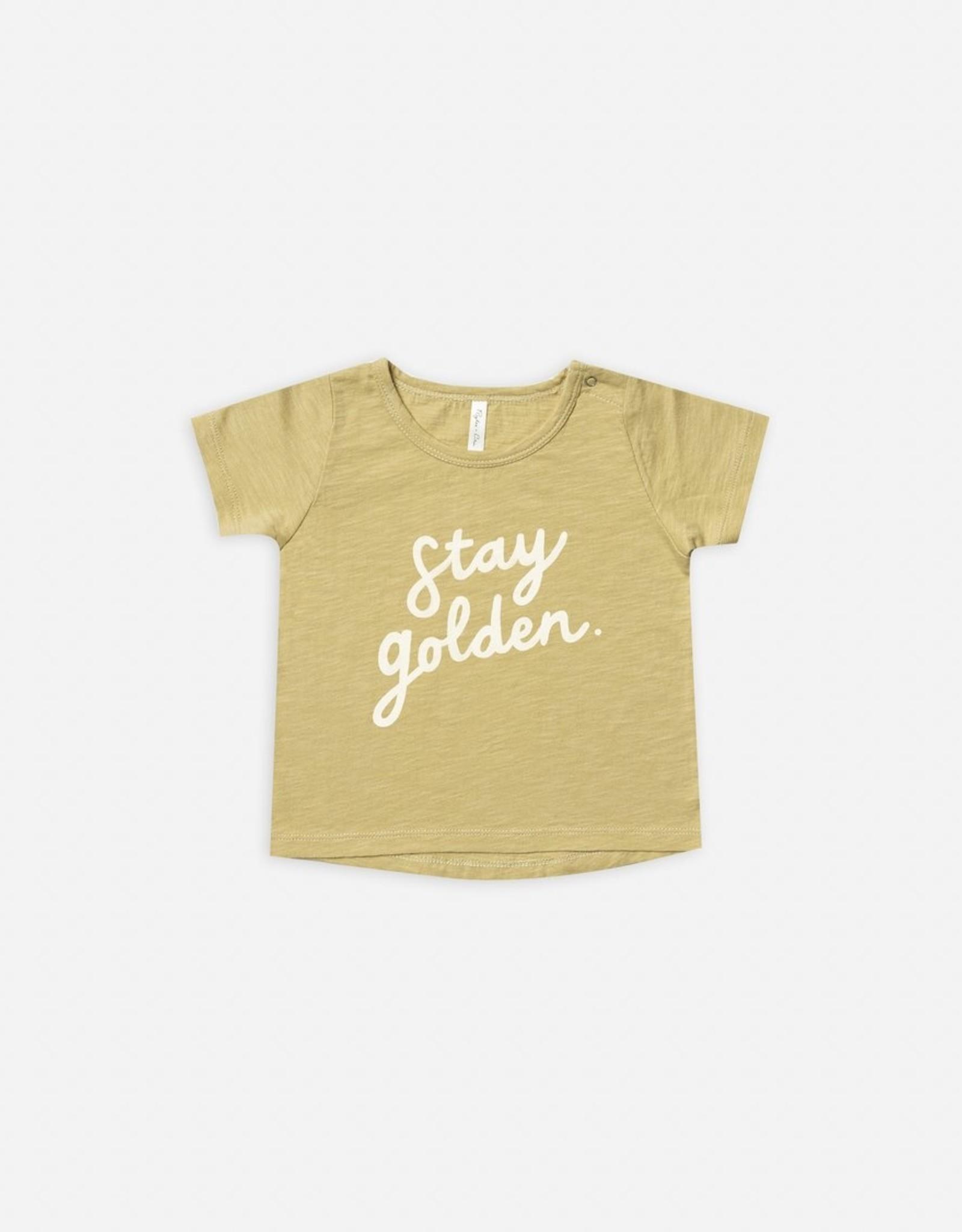 Stay Golden Basic Tee