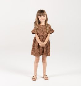 Cheetah Babydoll Dress