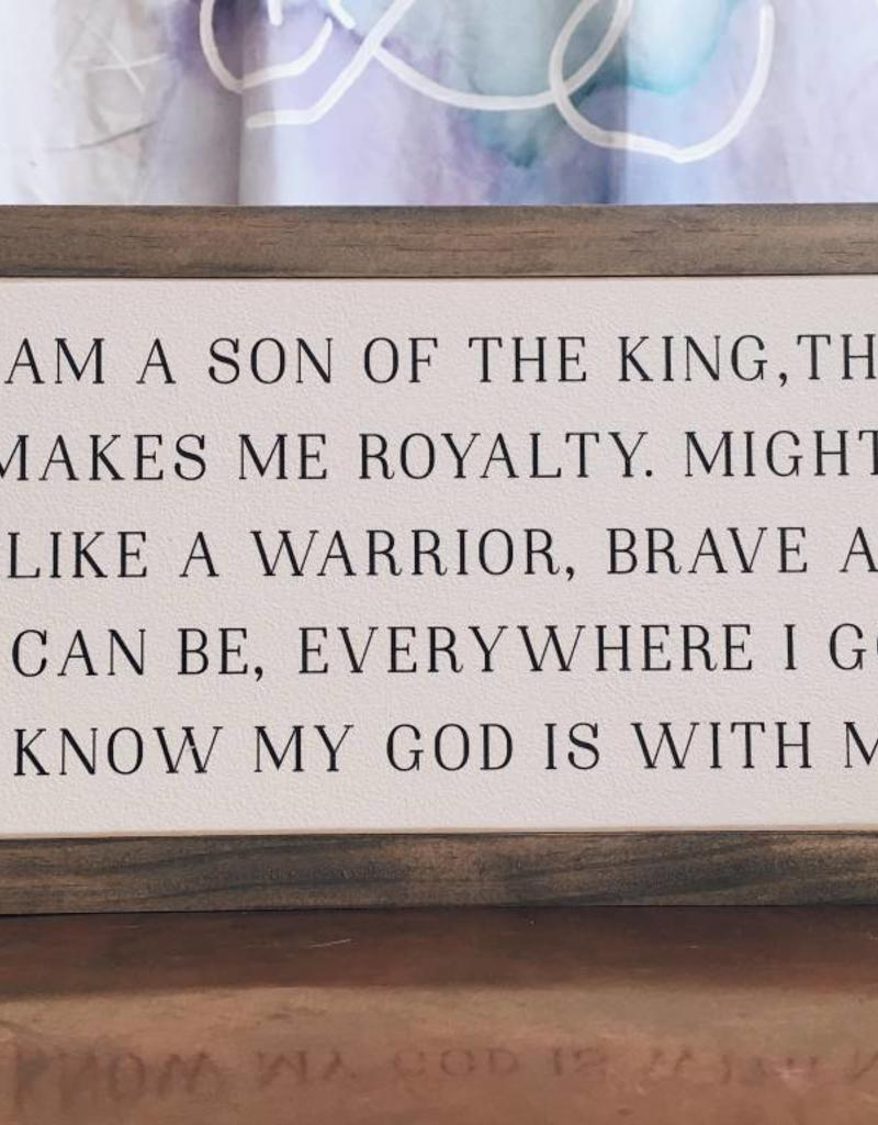 "12' x 6"" Son of the King"