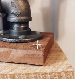 Christina Kober Designs BELOVED, Adjustable T Ring