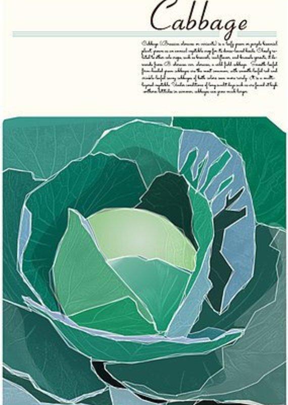 Junk Junk-Poster-Cabbage-12x18