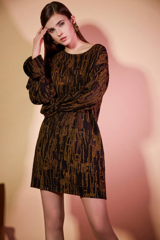 Eve Gravel Eve Gravel-Vetiver Dress
