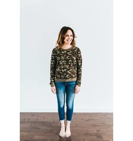Anthology Anthology 35-Camo Sweatshirt