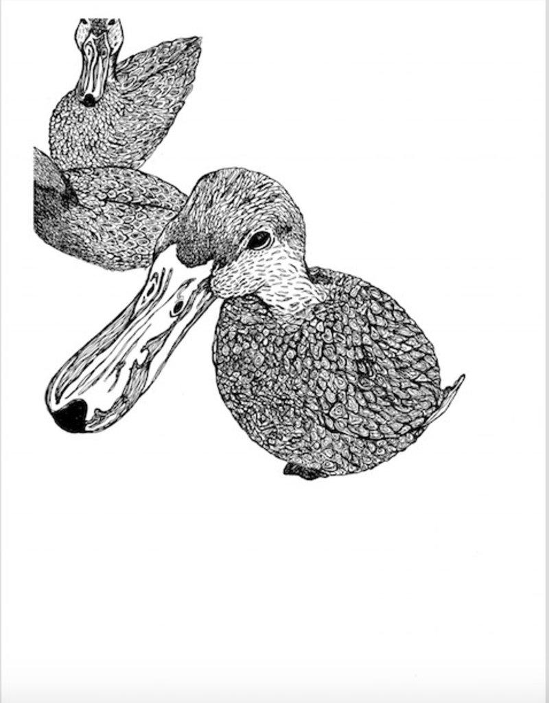 Kaila Erb Art&Illustration Kaila Erb-Duck, Duck, duck