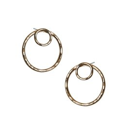 Strut Jewelry Strut-Double Circle Ear Jacket-GF