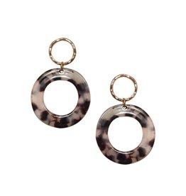 Strut Jewelry Strut-Lucite Circle Earring