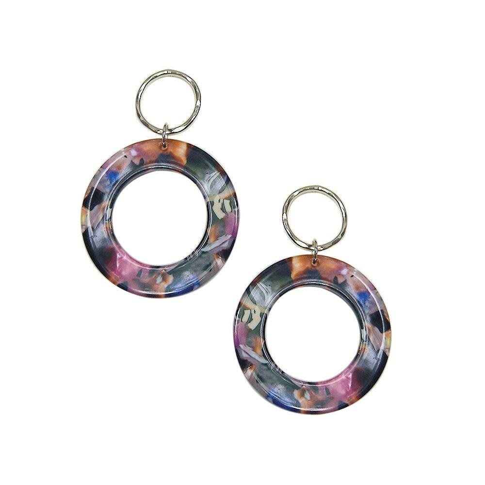 Strut Jewelry Strut-Lucite Circle Earring