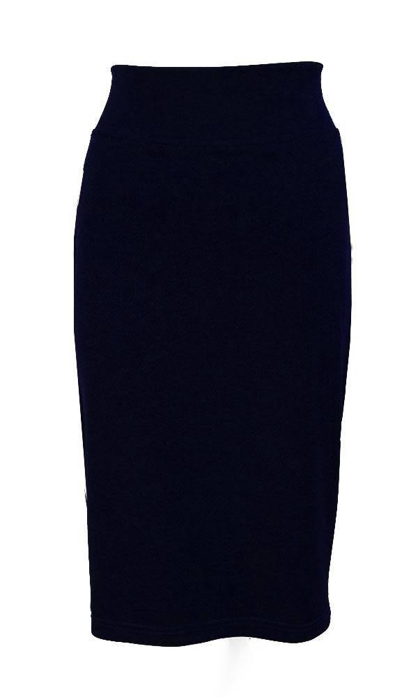 Mandala Mandala-Silhouette Pencil Skirt