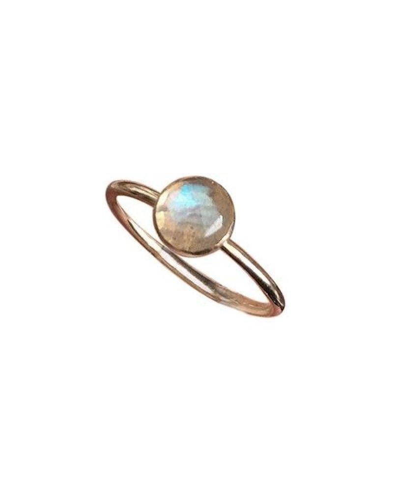 Strut Jewelry Labradorite Stacking Ring
