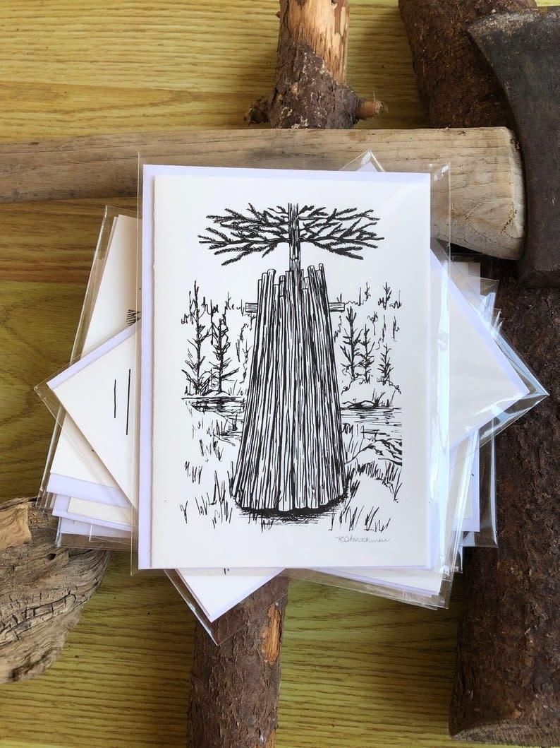 Krissie Worthman Art KW Art-Cut Wood