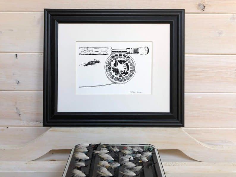 Krissie Worthman Art KW Art-Reel & Bomber