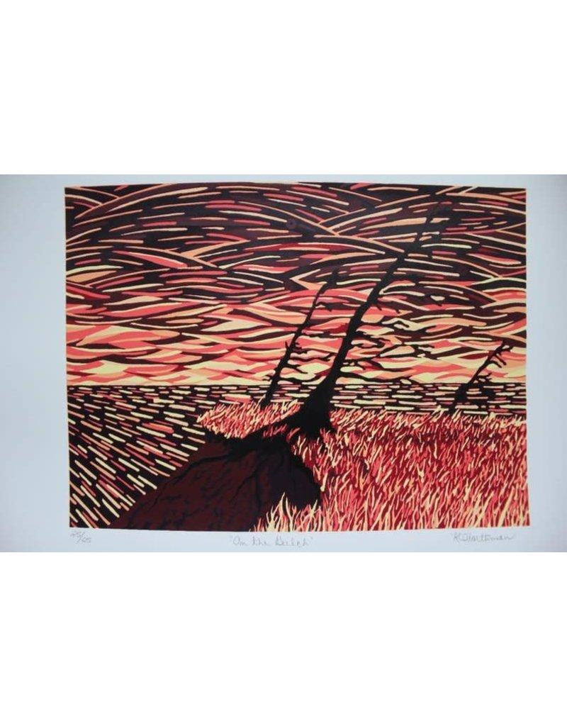 Krissie Worthman Art KW Art-On The Gulch-Limited Edition-8x10