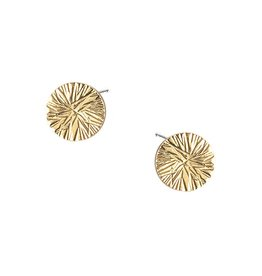 Strut Jewelry Strut-Full Circle Textured Studs