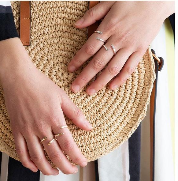 Strut Jewelry Strut-Wrap Ring-SS