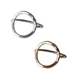 Strut Jewelry Strut-Open Circle Ring-GF
