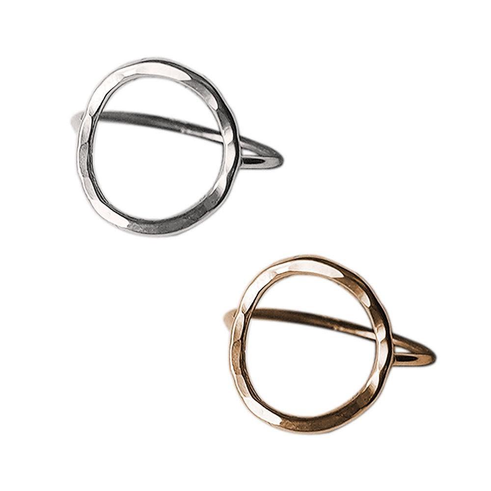 Strut Jewelry Strut-Open Circle Ring-GF