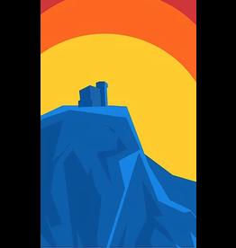 Junk Junk-Poster-Signal Hill Sunrise 12x18