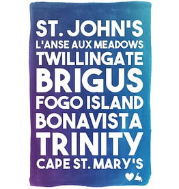 Junk Junk-Poster-Around the Island 12x18
