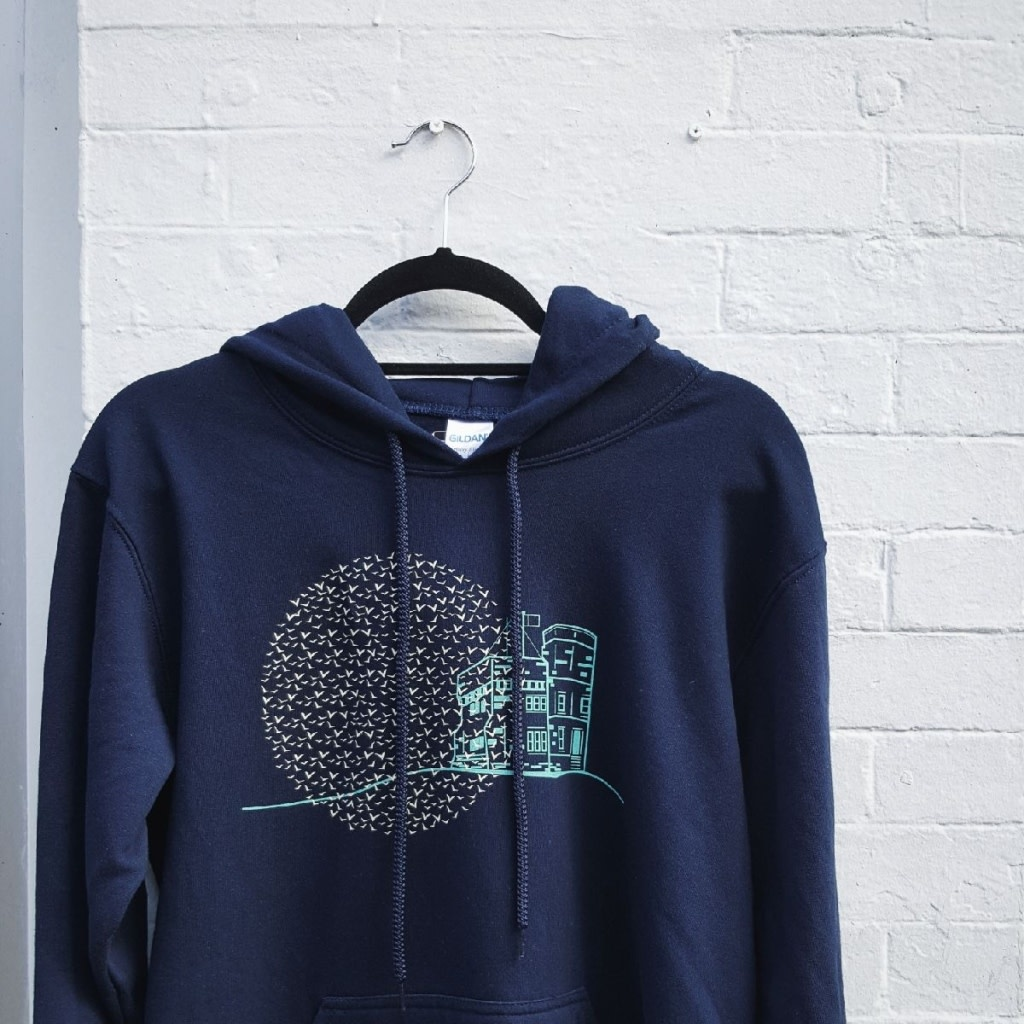 Twisted Sisters boutik Twisted Sisters-Cabot Tower Hoody