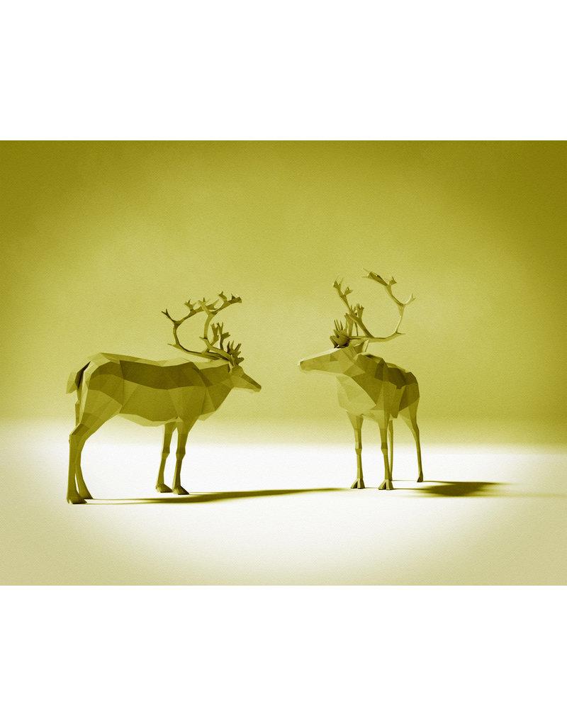 Joel E Hunt Joel E Hunt-Giclee Print-Caribou