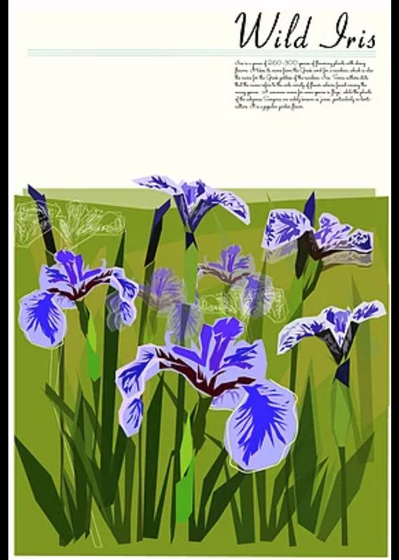 Junk Junk-Poster-Wild Iris 12x18