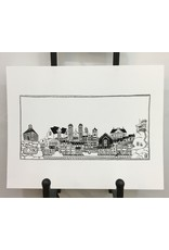 Twisted Sisters boutik Waterfront Print-11x14