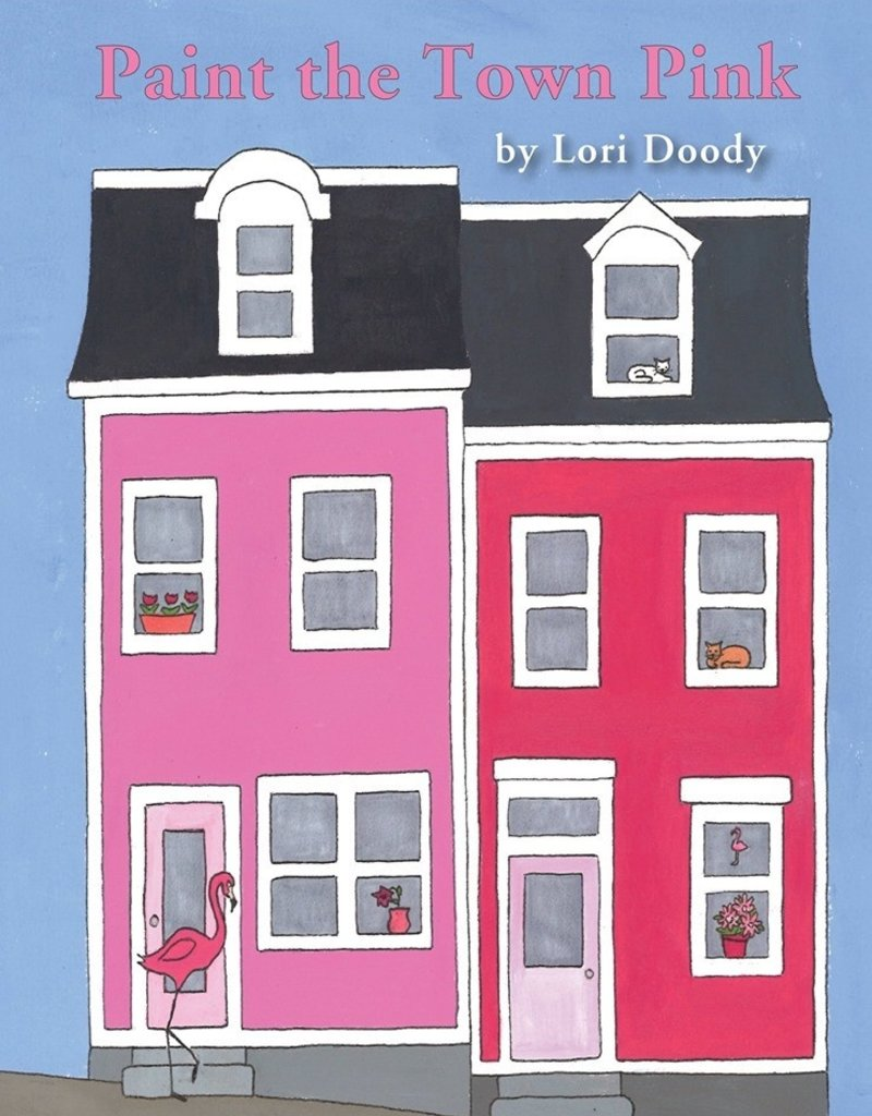 Running the Goat, Books & Broadsides Inc. Paint The Town Pink