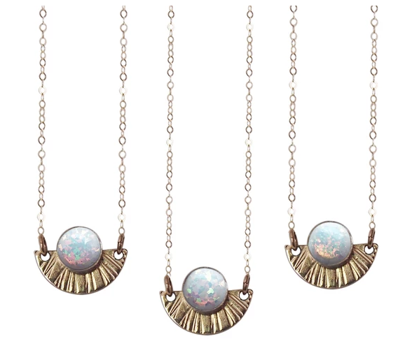 Strut Jewelry Strut-Opal Sunburst