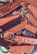 Young Blood Leather Young Blood-NL Sayings Keychain