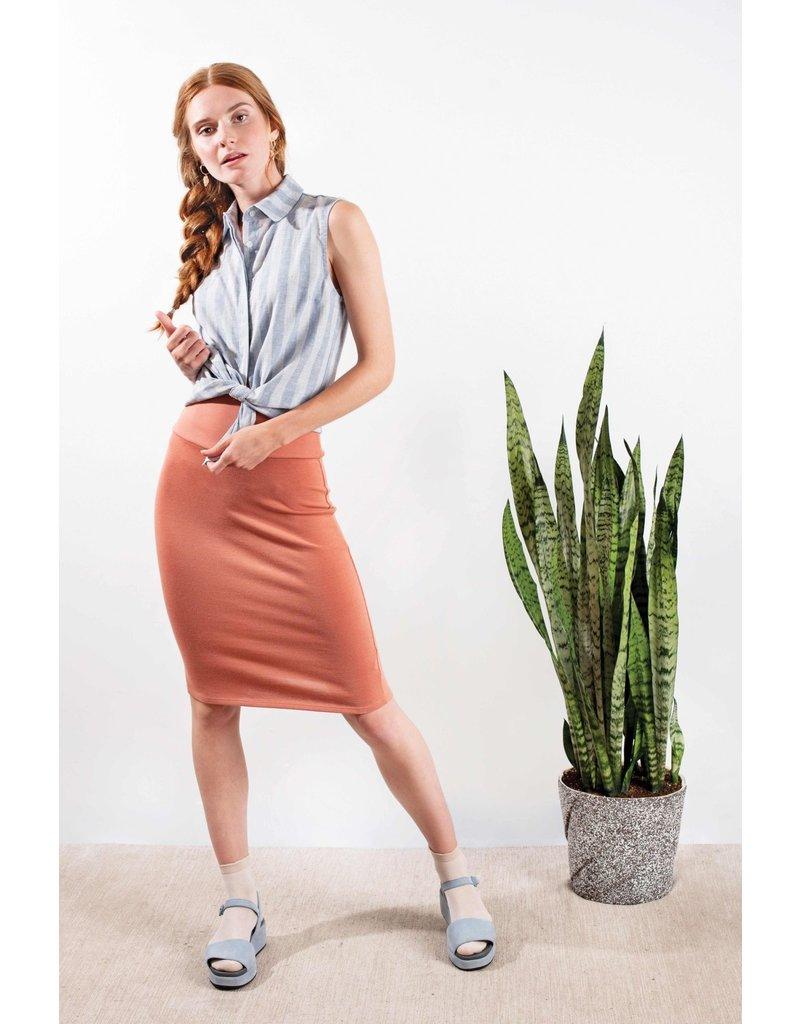 Meemoza-Jean 3/4 Skirt