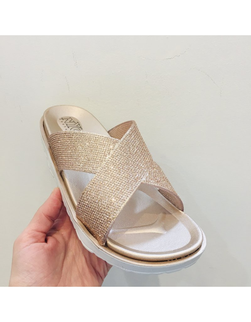 NYC Couture NYC Couture- Criss Cross Sandal