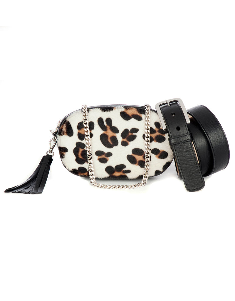 Brave-Venice-3 in 1 Belt Bag-White Leopard