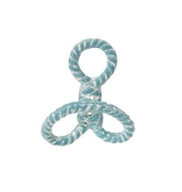 Indaba Trading Inc Nautical Knot Hook -Blue