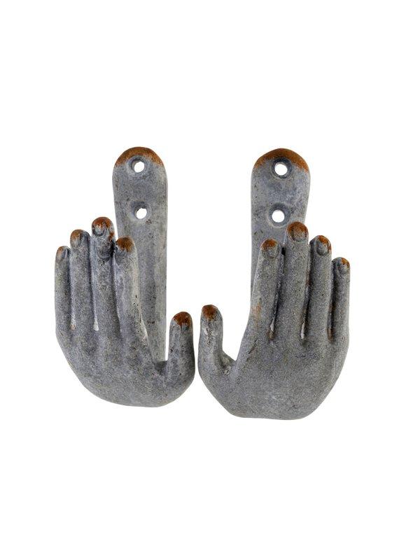 Indaba Trading Inc Hold My Hand Hooks-Set of 2