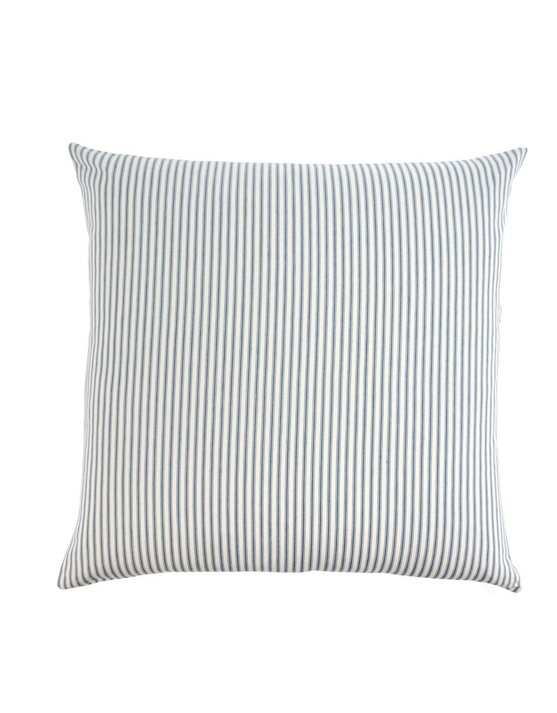 Indaba Trading Inc Ticking Cushion-Navy