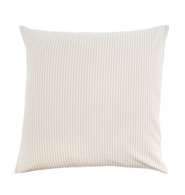 Indaba Trading Inc Ticking Cushion-Beige