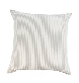 Indaba Trading Inc Ticking Cushion-Gray