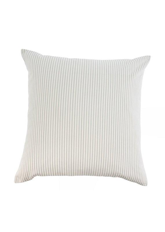Indaba Trading Inc Ticking Cushion-Gray